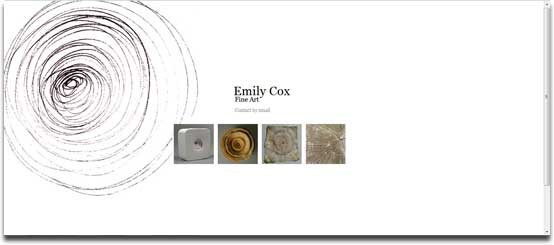 Emily homepage